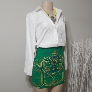 NEW! NWT! FLYING TOMATO EMBROIDERED SKIRT!